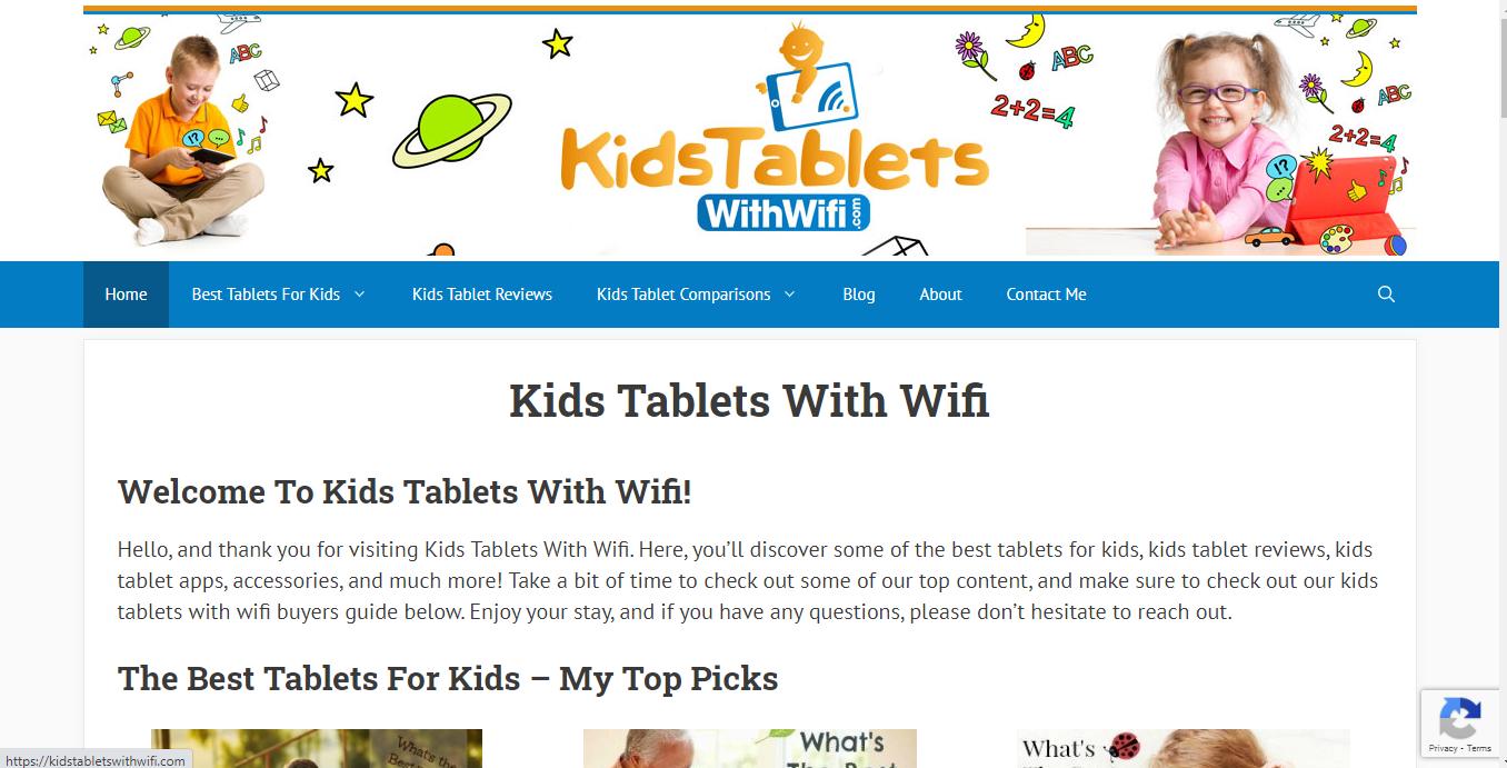 KidsTabletsWithWiFi